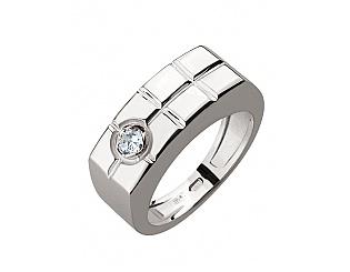 Золотое кольцо с фианитами 2к-263 фотография