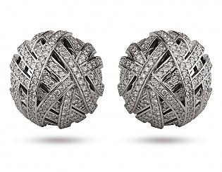 Золоті сережки з діамантами 2б_с-047 фотографія