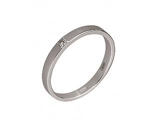 Золотое кольцо с бриллиантами 2к-282 фотография