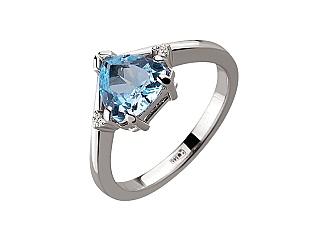 Золотое кольцо с топазом 01-17479296 фотография