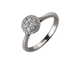 Золотое  кольцо с бриллиантами 01-17547996 фотография
