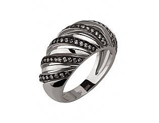 Золотое кольцо с бриллиантом 11б_к-054 фотография