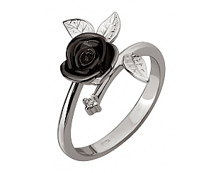 Золотое кольцо с бриллиантами 11б_к-120 фотография