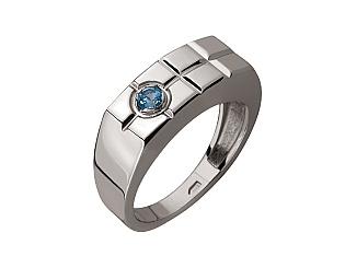 Золотое кольцо с топазами 2-пр-59 фотография