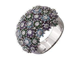 Золотое кольцо с бриллиантом 01-17329399 фотография