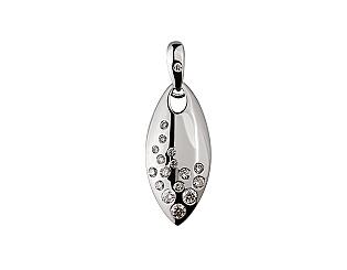 Золотий кулон з діамантами 01-17635599 фотографія